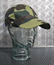 100% Cotton Woodland Camouflage Baseball Hat / Cap - BRAND NEW