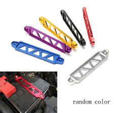 Random 22cm Aluminum Car Battery Tie Down Holder Mount Bracket Brace Bar Billet