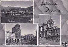 # BRESCIA: SALUTI DA - 3 VEDUTE   1956