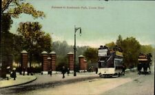 Rotherhithe Entrance to Southwark Park, Lower Road by Martin, Southwark Park Rd.