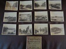 Valentine's Snapshots of St. John, New Brunswick (Cat.#6B027)