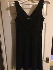 Black Chiffon Next Dress Size 14