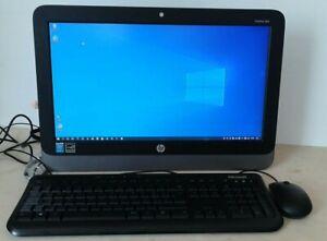 """All in One HP Pro One400 G1 19,5""""/core i3-3.20GHZ/HD 500gb 4gb ram  windows 10"""