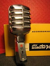 WOW VINTAGE ELECTRO-VOICE EV 611 DYNAMIC MICROPHONE OMNI DIRECTIONAL NOS MIC !!!