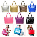 Women Space Bale Winter Cotton Totes Lady Quilted Shoulder Bag Handbag HY