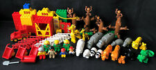 Lego Duplo Vintage Maxi Zoo Large Mixed Lot Mini Figures Animals Accessories