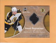 2006 07 SWEET SHOT PHIL KESSEL SP 499 ROOKIE #104 BOSTON BRUINS RC
