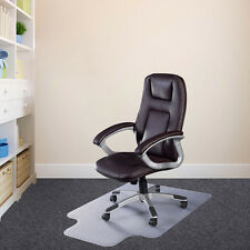 """48"""" x 36"""" PVC Home Office Chair Floor Mat with Lip for Wood/Tile Floor 2.0mm"""