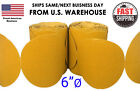 """6"""" Sanding Disc Sandpaper 100 Roll PSA Sticky Back Grit 40-800 Sand Paper 80 320 <br/> ✔1-5 Day Shipping w/ Tracking  ✔BUY ONE GET ONE 10% OFF"""