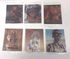 Vintage Star Wars Episode 1 Flip Images Lenticular Card Set of 6 from UK- Sealed