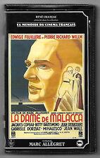 VHS K7 RENE CHATEAU / LA DAME DE MALACCA - EDWIGE FEUILLERE , P.R WILLM
