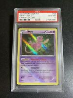 Pokemon 2016 Xy Fates Collide Mew Holo PSA 10 Low Pop 36 Intense Holo Bleed 1/1