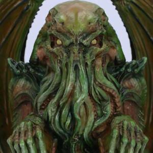 CTHULHU 32CM HORROR FIGURINE GREEN GOTHIC ORNAMENT MONSTER THE SPIRIT OCTOPUS