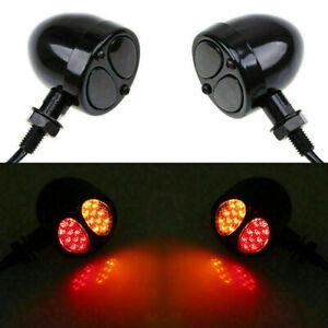 New LED Turn Signal Light Motorcycle Bike Running Brake Lamp For Honda Yamaha