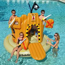 Swimline Inflatable Pirate Island Adventure Set Swimming Pool Kids Float 90940