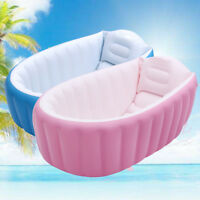 Inflatable Portable Travel Compact Toddler Infant Kids Baby Bath Tub Outdoor  A