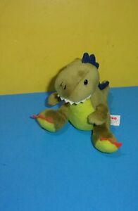 "6"" Gund Animal Chatter Dino Roars T Rex Dinosaur Plush w/ Sound Stuffed Toy"