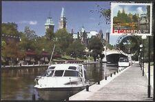 CANADA #2739e - OTTAWA'S RIDEAU CANAL UNESCO HERITAGE SIT- MAXICARD
