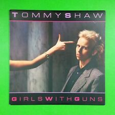 TOMMY SHAW Girls With Guns SP5020 LP Vinyl VG++ Cover VG++ STYX