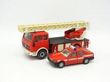 Siku SB 1/55 - Mercedes 2232 Echelle Pompiers + Classe C Feuerwehr