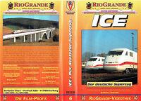 (VHS) ICE - Der deutsche Superzug (Dokumentation: Eisenbahn)