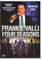 Frankie Valli & Four Seasons DVD In Concert Brand New Sealed