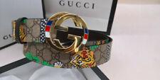 Authentic Gucci Men's Belt Gold Buckle size 95/38 fits 34-38 waist g55