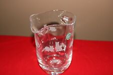 Lenox Crystal Etched Cat Pitcher New