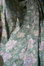 """pair of Unlined Retro curtain's approx 93"""" wide 70"""" (each) drop 3"""" header tape"""
