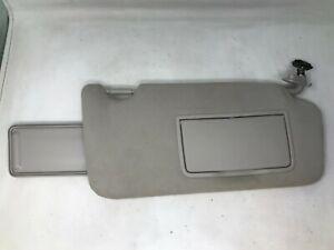 2010-2014 Subaru Legacy Passenger Sun Visor Sunvisor Gray OEM V0097