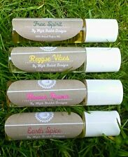 Hand Blended Roll On Perfume Oils, Pick your Blend, Vegan, Hippy, Pagan, Natural