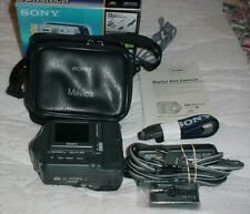Sony Mavica MVC-FD200 2.0MP Digital Camera - Black & Metallic silver In Box-V.G.