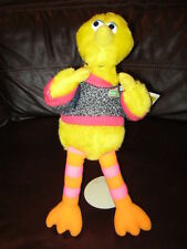 "Vintage Plush Official Sesame Street Big Bird- ""School Days""- 15"" New-Last"
