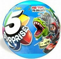 5 Different Surprise Mini Toys Inside Blue Zuru Ball - Party Filler - Birthdays