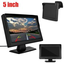 """Car Rear View Kit HD IR 170° Reversing Camera+5""""TFT LCD Monitor Night Vision UK"""