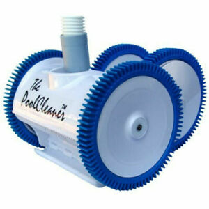 Hayward W3PVS40JST Poolvergnuegen Automatic Suction Pool Cleaner 4-Wheel, White