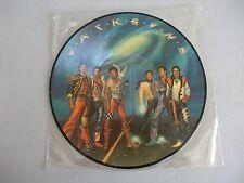 THE JACKSONS  MICHAEL JACKSON  OFFICIAL PICTURE DISC LP Album Vinyl Record
