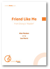 FRIEND LIKE ME (From Aladdin) - Brass Band - Score & Parts *NEW Sheet Music Book