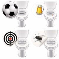 WC Aufkleber GASTRO für Pissoir Toilette Sticker bunt lustig 4 Motive je 2 Stück