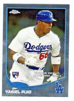 2013 Topps Chrome Update ##MB-41 YASIEL PUIG RC Rookie Los Angeles Dodgers