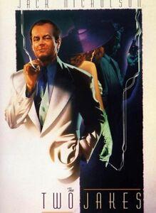 The Two Jakes DVD JACK NICHOLSON 1990 CHINATOWN (1974) SEQUEL - REGION 4
