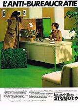 PUBLICITE ADVERTISING 025  1978  STRAFOR  mobilier de bureau