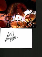 The Faces/The Who Kenney Jones signed autograph UACC AFTAL online COA