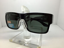 AUTHENTIC SPY SUNGLASSES CYRUS GLOSSY BLACK/HAPPY GRAY LENS