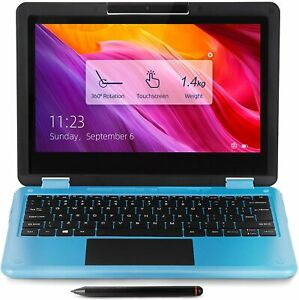 AWOW 11.6 Inch Laptop Touchscreen 2 in 1 Convertible Laptop, Windows 10 in S Mod