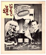 1950's WALKER EDMISTON Kiddie TV PUPPETS Grand Taste Franks HOT DOG Promo Photo