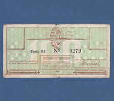 NIEDERLANDE / NETHERLANDS 100 Cent 1944 Lager Westerbork  Fine