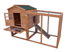 Modular Chicken Coop Set  (Wooden Poultry Hen House Rabbit Hutch / Pet) SALE!!