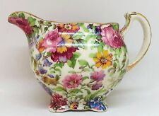Royal Winton Grimwades Summertime Floral Chintz Creamer, Vintage Milk Jug