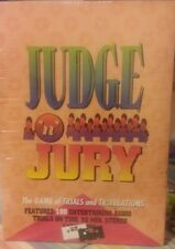 Judge 'n' Jury board game factory sealed brand new 1995 Winning Moves